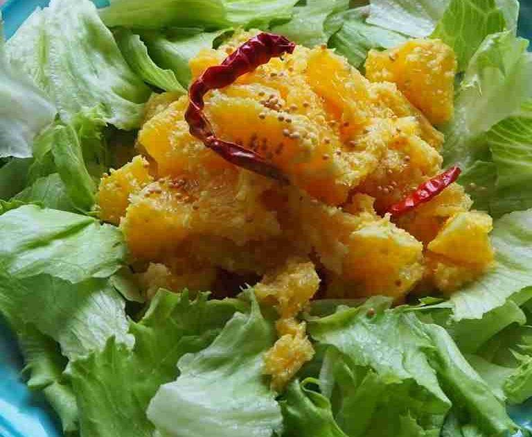 Sinaasappel Salade (Sasamé)
