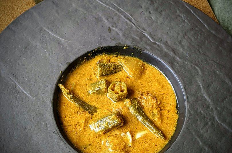 Okra Coconut Curry – Bhendi ghashi